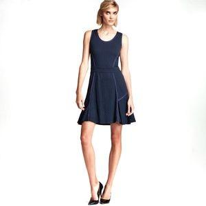 MARC Jacobs Emi Eyelet Cutout Blue Black Dress
